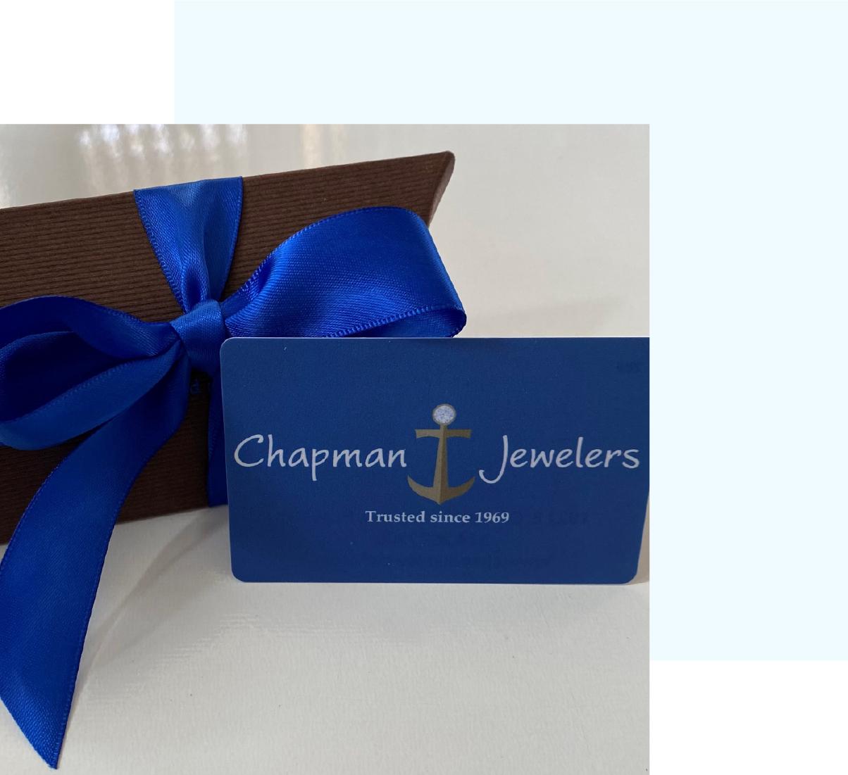 Chapman Jewelers_Chapman Jewelers Gift Cards